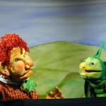 Gianni Stento e il pronipote del Grillo di Pinocchio