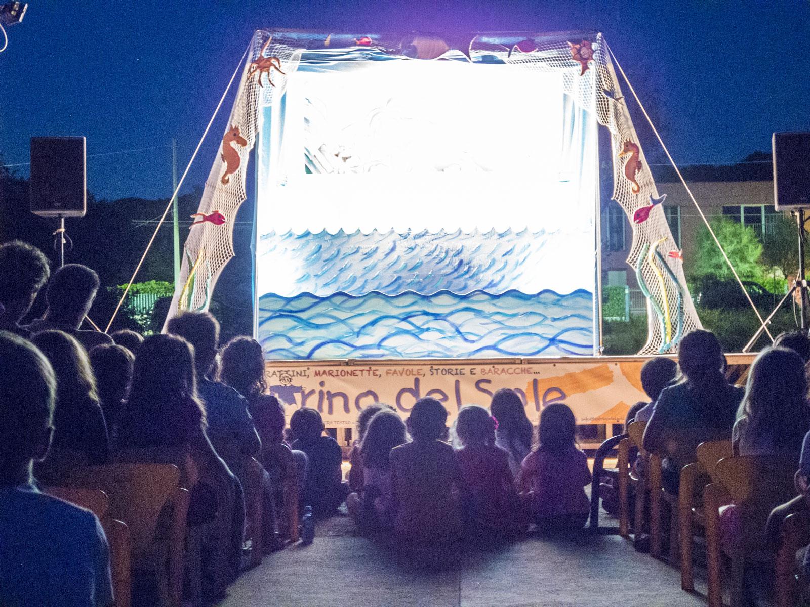 Teatrino del Sole a Marina di Pisa nel 2018