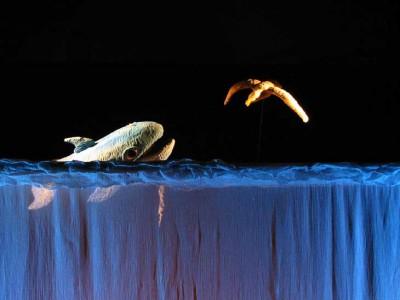 Azzurra Balena, teatro di figura, burattini, marionette
